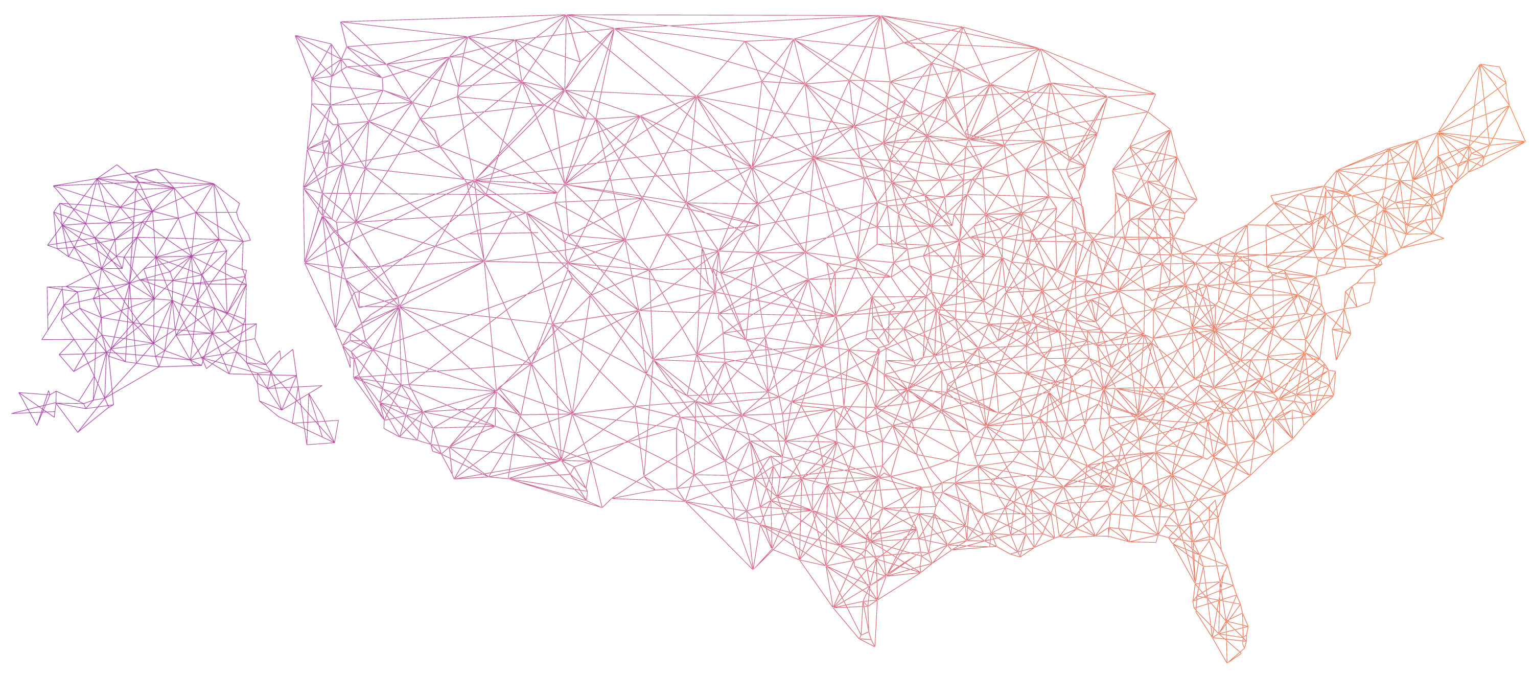 Map of the United States